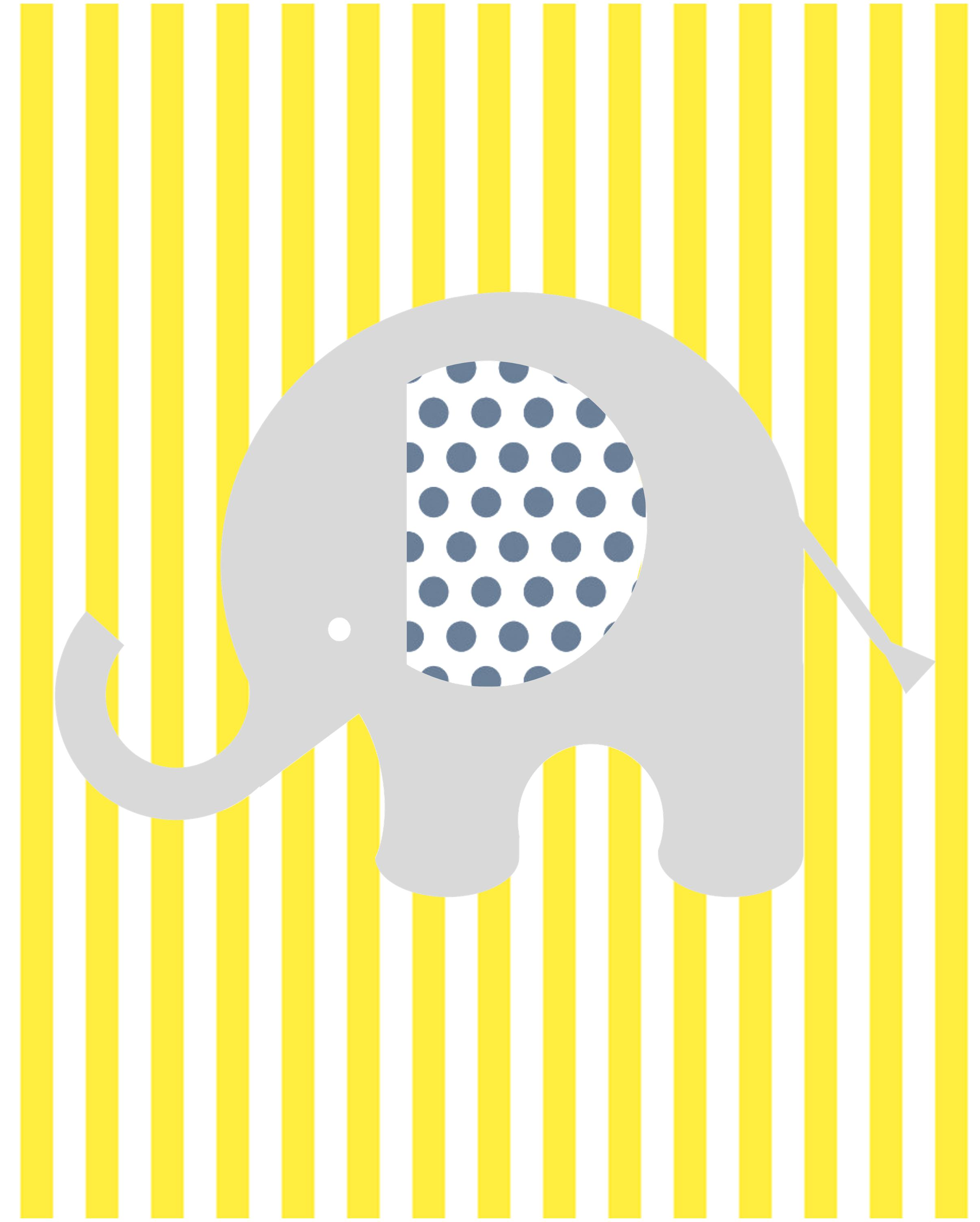 Old Fashioned Elephant Nursery Wall Decor Collection - Art & Wall ...