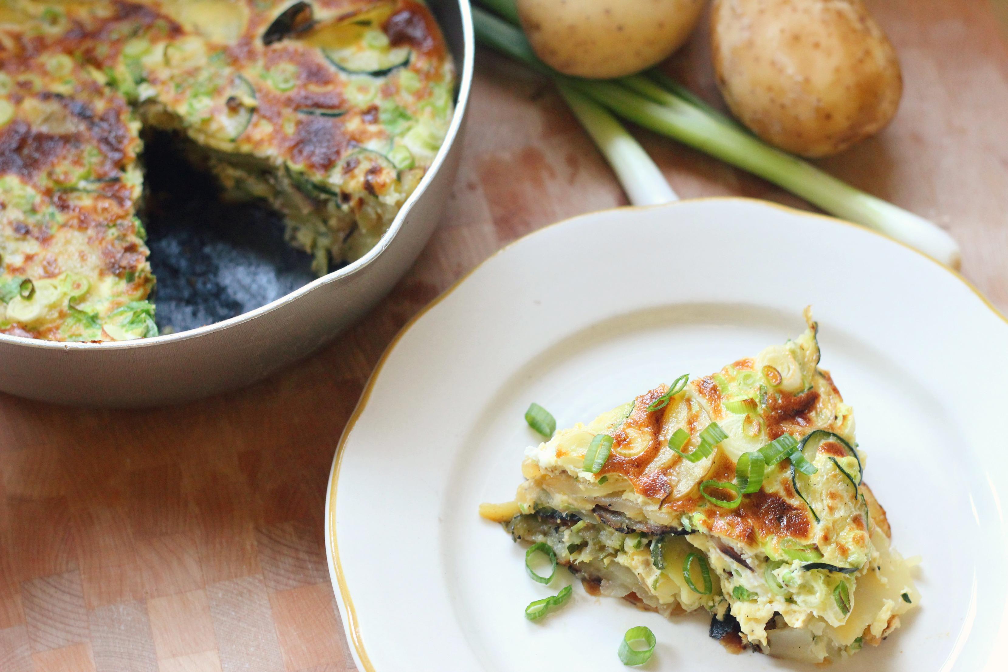 Zucchini Potato Frittata